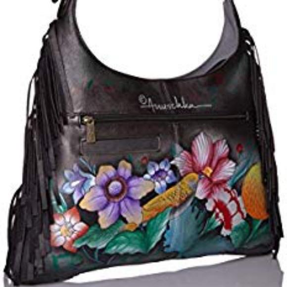 Anna by Anuschka Designer Leather Handbag NWT e0a1f8c586c8e